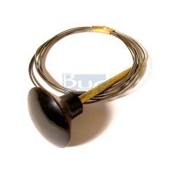 CABLE COFFRE AV.T1-68 ET KG bouton noir