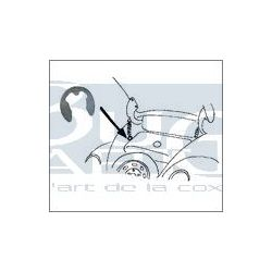 CLIP pour CHARNIERE CAPOT AV. 12/13/1302