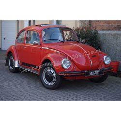 """VW Coccinelle 1303 S """"Jeans"""" 1975 rouge Sénégal"""