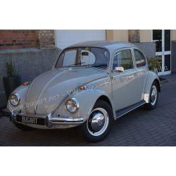VW Coccinelle 1300 gris Chinchilla 1968