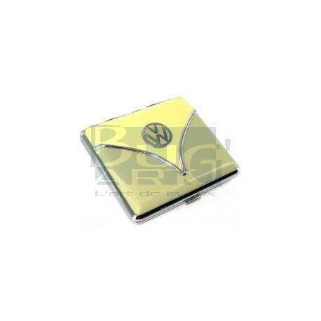 Porte cigarettes Combi ivoire et vert d'eau