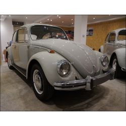 VW Coccinelle 1300 gris Chinchilla 1968