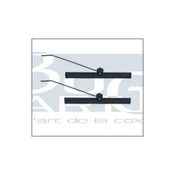 BALAIS ET BRAS ESS. GL. 53-57 NOIR (185mm) PAIRE