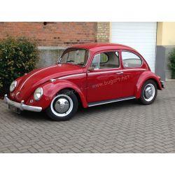 (vendue) VW Coccinelle 1300 rouge rubis 1966