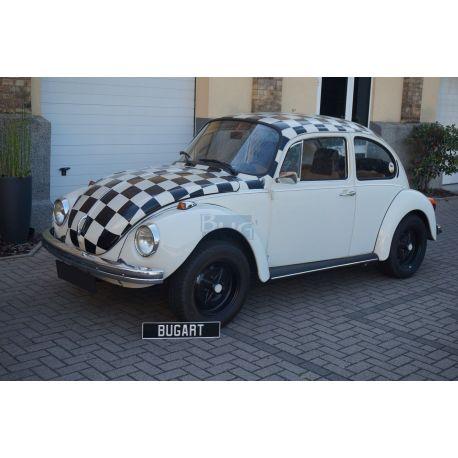 """VW Coccinelle 1303 berline 1974 """"à damiers"""""""