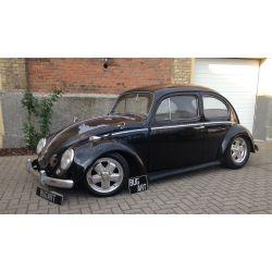 """VW Coccinelle 1200 noire 1960 style """"Rat's"""""""