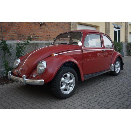 VW Coccinelle 1300 rouge rubis 1966 - pour bricoleur