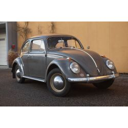 VW Coccinelle 1200 gris anthracite 1963