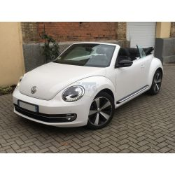 "VW Coccinelle Cabriolet 2013 ""Sport"" blanche"