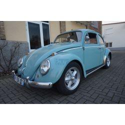VW Coccinelle 1200 - bleu pastel - 1961